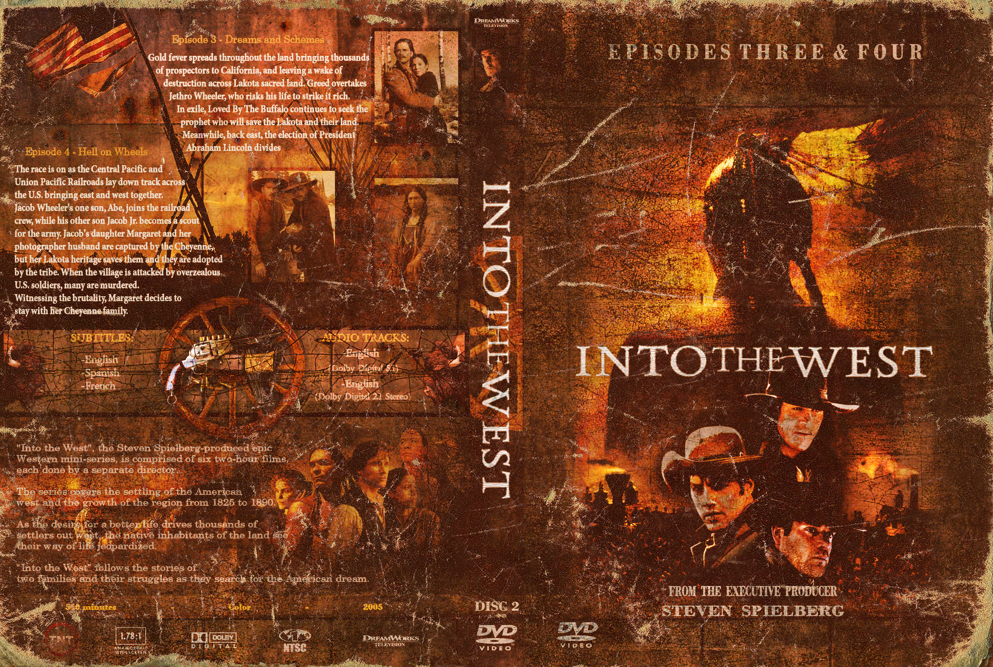 Into the west - dvd 2