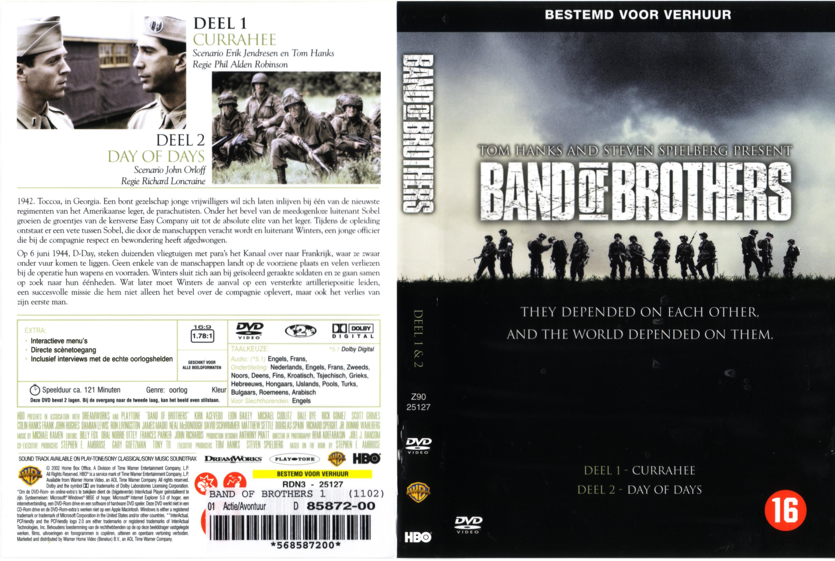 Band of brothers disc 1