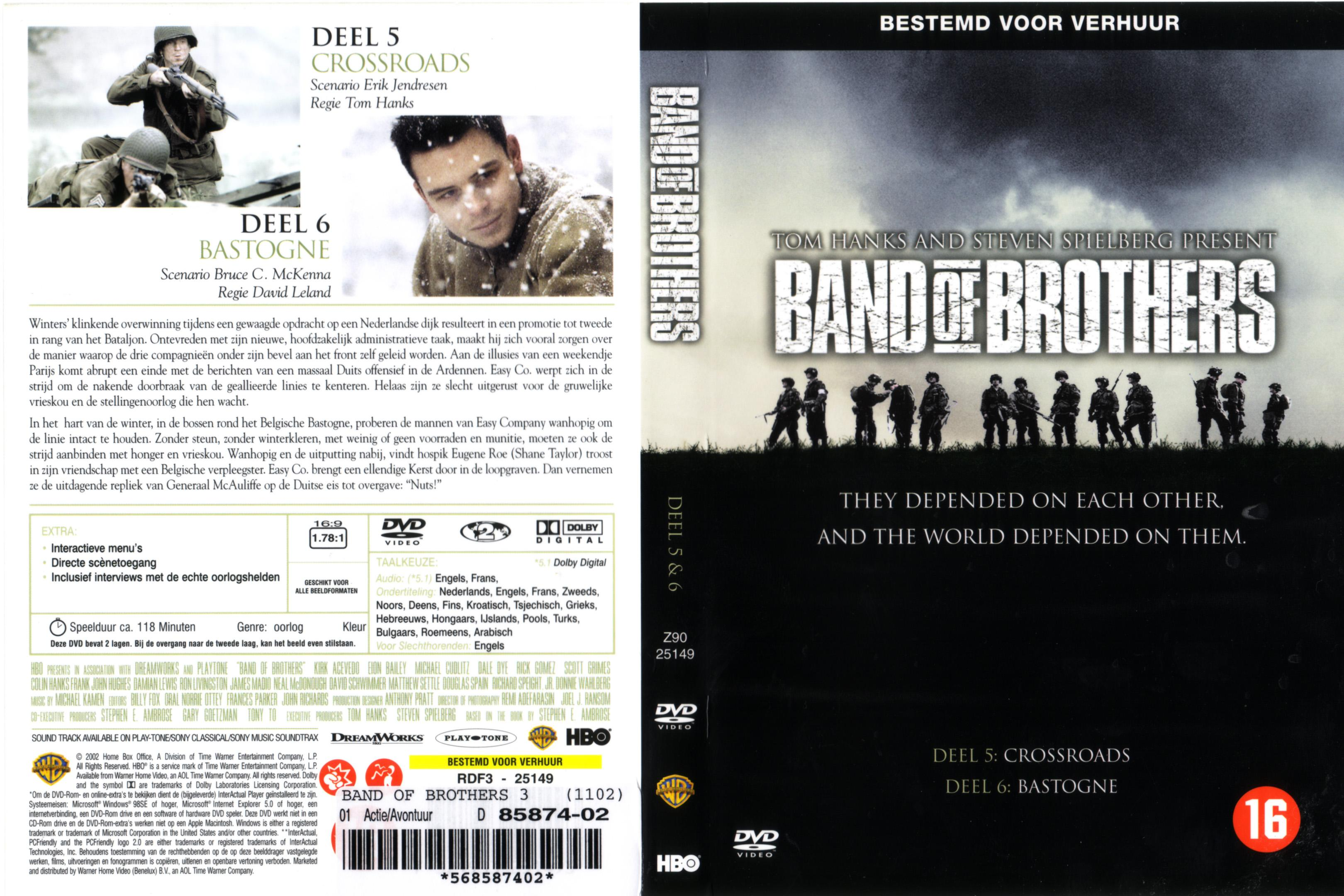 Band of Brothers disc 3