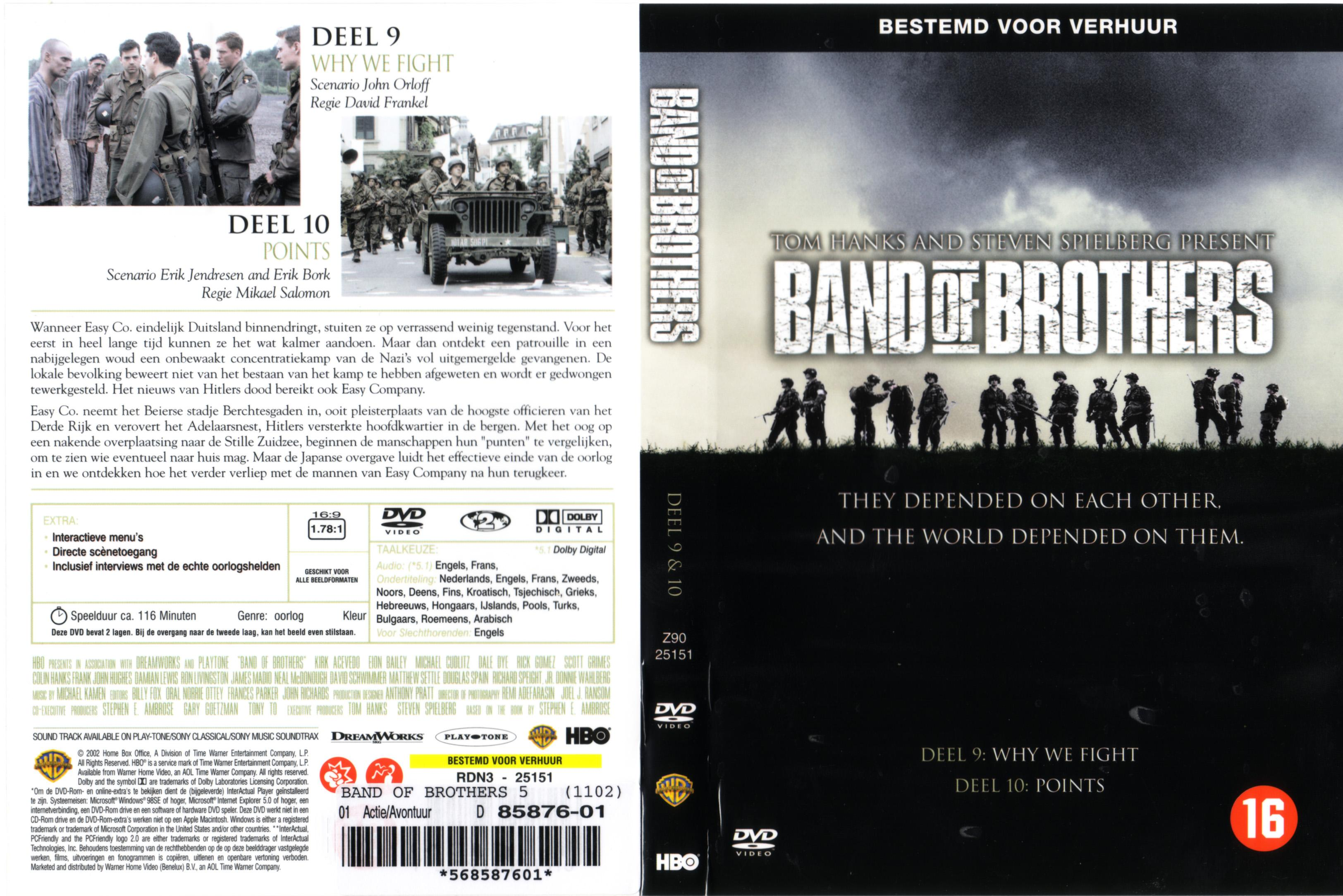 Band Of Brothers dvd 5