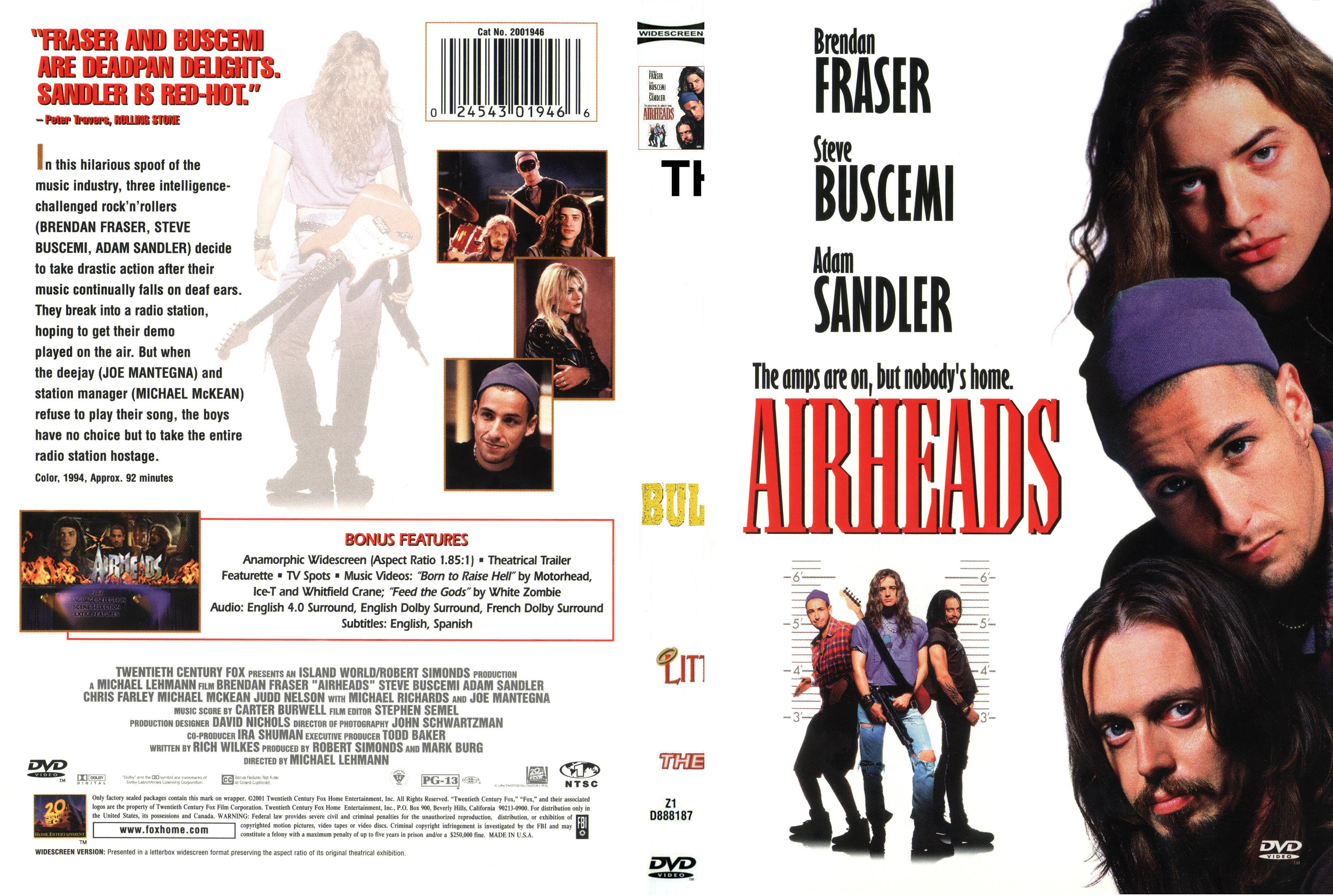 Adam Sandler collection, Airheads English