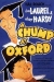 Chump at Oxford, A (1940)