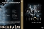 Heroes - The Complete First Season dvdcover