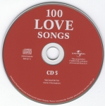 100 Love Songs CD 5