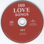 100 Love Songs CD 2