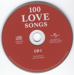 100 Love Songs CD 1