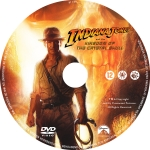 Indiana Jones And The Kingdom Of The Crystal Skull label